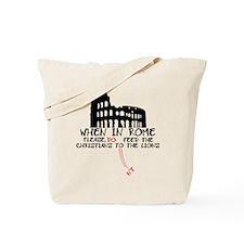 Atheist slogan atheist lions Tote Bag