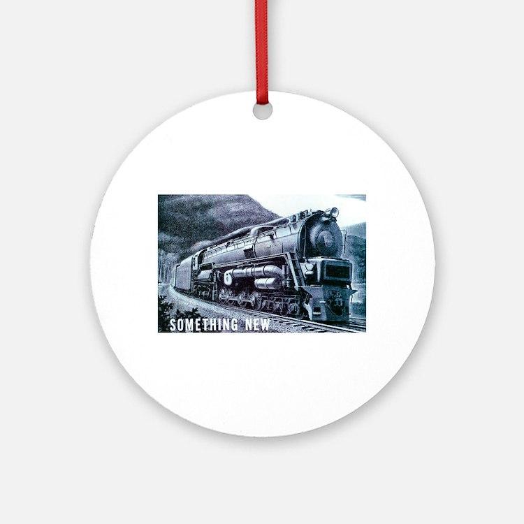 Baldwin S-2 Steam Locomotive Keepsake (Round)