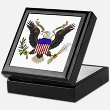 Great Seal Eagle Keepsake Box