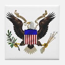 Great Seal Eagle Tile Coaster