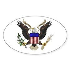 Great Seal Eagle Oval Decal