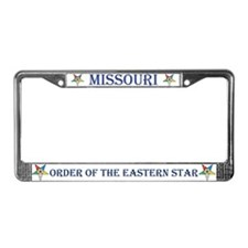 OES Missouri License Plate Frame