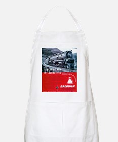 Baldwin S-2 Steam Locomotive BBQ Apron