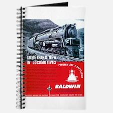 Baldwin S-2 Steam Locomotive Journal