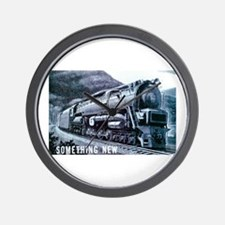 Baldwin S-2 Steam Locomotive Wall Clock