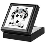 Borthwick Family Crest Keepsake Box
