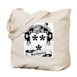 Borthwick Family Crest Tote Bag