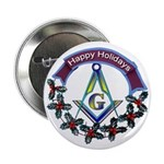 Masonic Holiday Button
