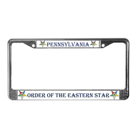 PA OES License Plate Frame