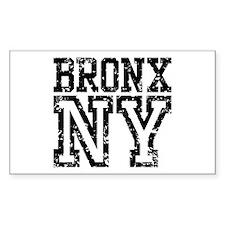 Bronx NY Rectangle Decal