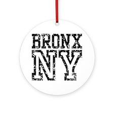 Bronx NY Ornament (Round)