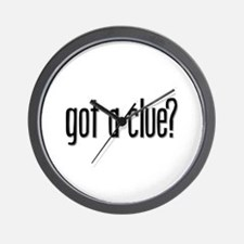 Got a Clue? Wall Clock