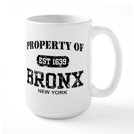 Property of Bronx Large Mug