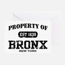 Property of Bronx Greeting Cards (Pk of 10)