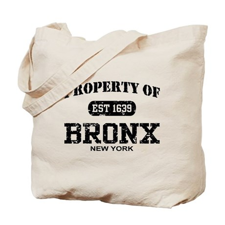 Property of Bronx Tote Bag