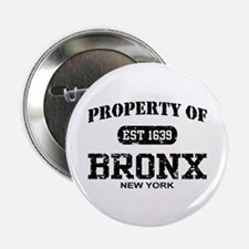 "Property of Bronx 2.25"" Button"