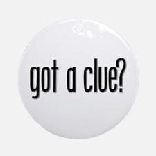 Got a Clue? Keepsake (Round)
