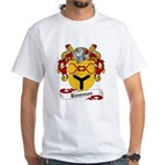 Bowman Family Crest White T-Shirt