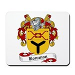 Bowman Family Crest Mousepad