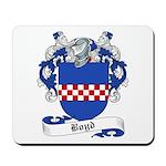 Boyd Family Crest Mousepad