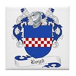Boyd Family Crest Tile Coaster