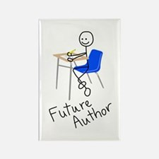 Future Author Rectangle Magnet