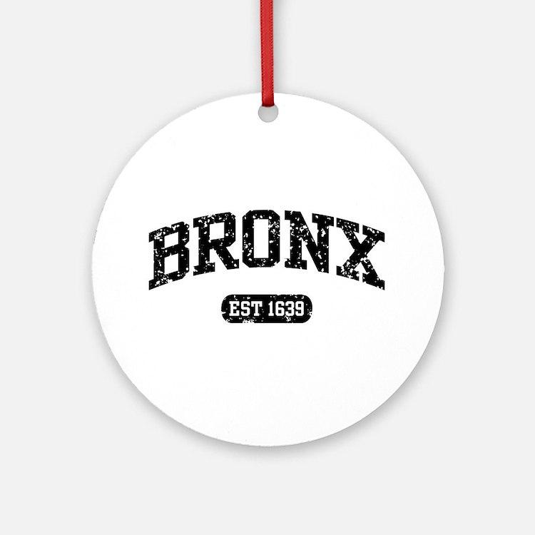 Bronx Est 1639 Ornament (Round)