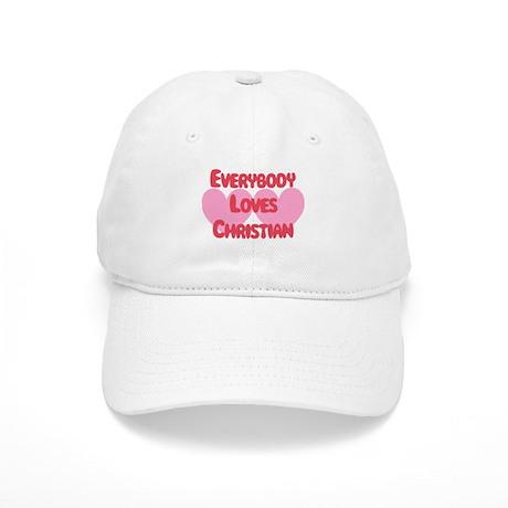 Everybody Loves Christian Cap