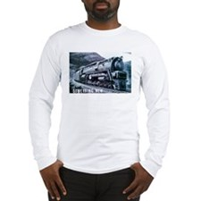 Baldwin S-2 Steam Locomotive Long Sleeve T-Shirt