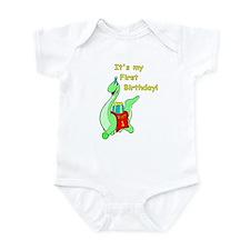 Wyatt's 1st Birthday Infant Bodysuit