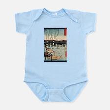 Japanese Ukiyo-e Print Infant Bodysuit