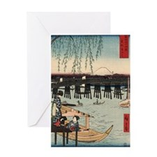 Japanese Ukiyo-e Print Greeting Card