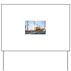 The Blimp Yard Sign