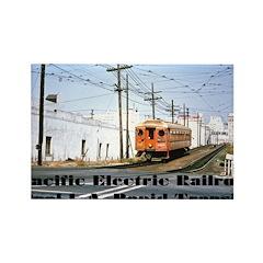The Blimp Rectangle Magnet (100 pack)