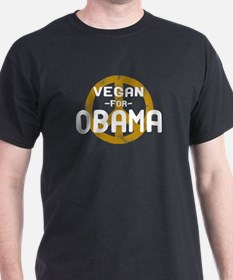 Vegan For Obama T-Shirt