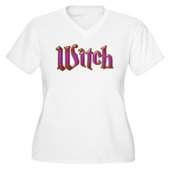 Witch Magic Wicca Purple T-Shirt
