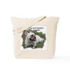 French bulldog Snort Tote Bag