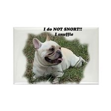 French bulldog Snort Rectangle Magnet (10 pack)