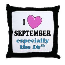 PH 9/16 Throw Pillow