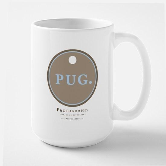 PUG Large Mug by Pugtography