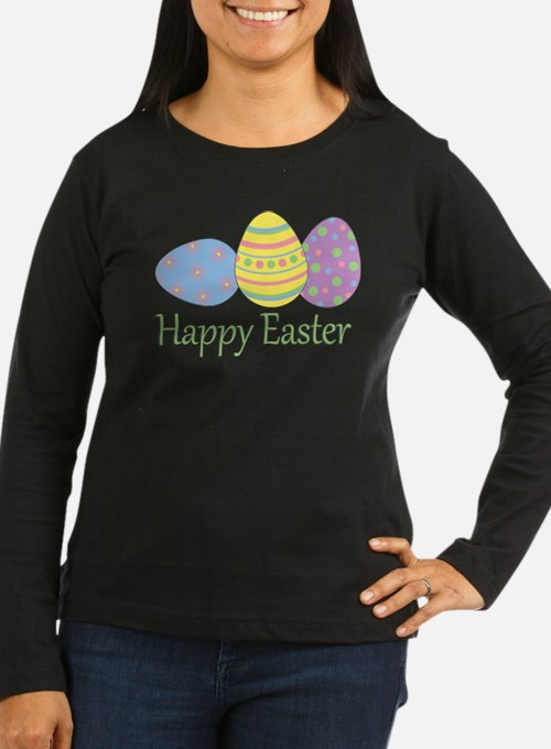 happyeaster Long Sleeve T-Shirt