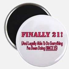 Finally 21 Magnet