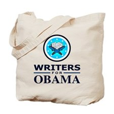 WRITERS FOR OBAMA Tote Bag