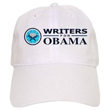 WRITERS FOR OBAMA Baseball Cap