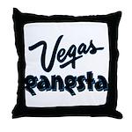 Vegas Gangsta Throw Pillow