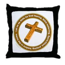 CHRISTIAN FATHER Throw Pillow