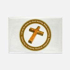 CHRISTIAN FATHER Rectangle Magnet
