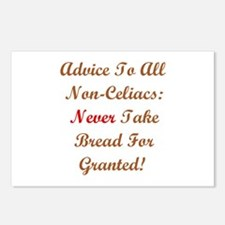 Never Take Bread For Granted! Postcards (8 Pack)