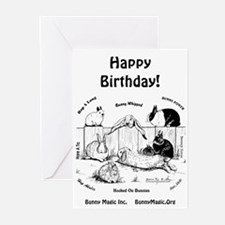 Bunny Magic Rabbit Birthday Cards (Pk of 20)