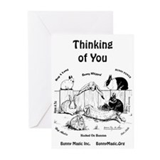 Bunny Thinking of You Greeting Cards (Pk of 20)